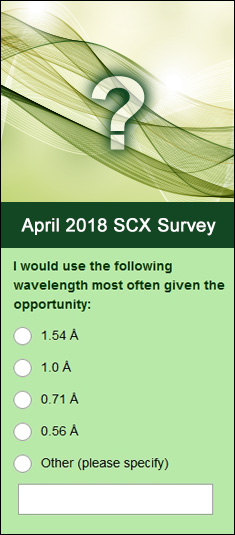 April 2018 Monthly Survey