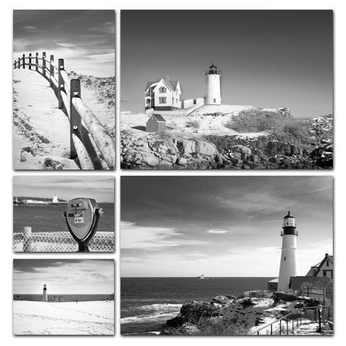 Portland Head Lighthouse and its surroundings