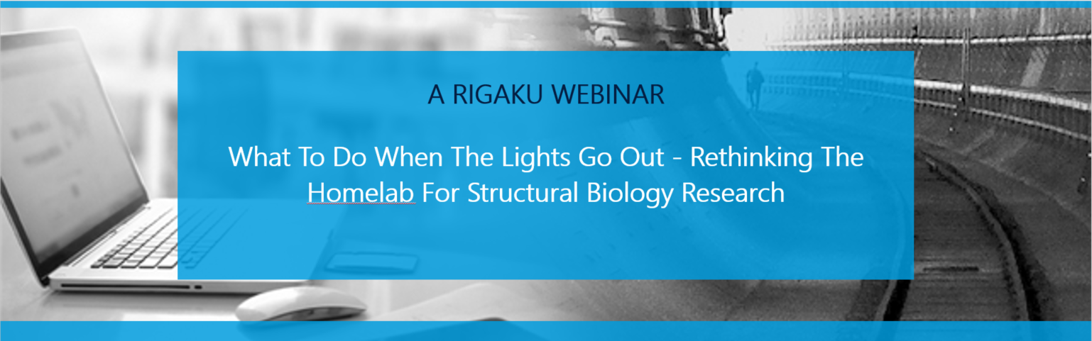 What to do when the lights go out - rethinking the homelab for structural biology research.