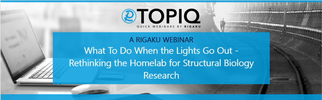 TOPIQ | What To Do When the Lights Go Out - Rethinking the Homelab for Structural Biology Research