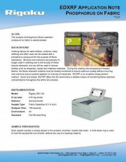 XRF application note 1127