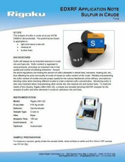 XRF application note 1149