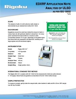 XRF application note 1272
