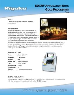 XRF application note 1299
