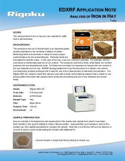 XRF application note 1425