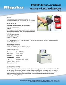 XRF application note 1438