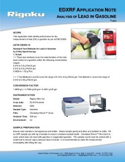 XRF application note 1443