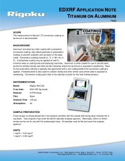 XRF application note 1620