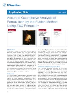XRF application note XRF1026