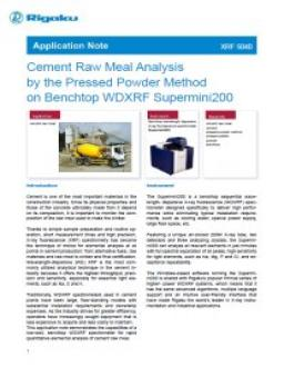 XRF application note XRF1040