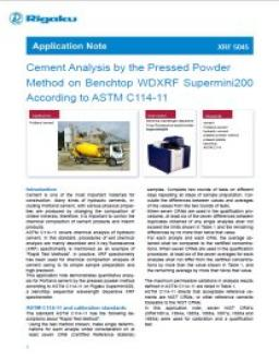 XRF application note XRF1045