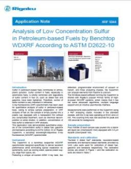 XRF application note XRF1080