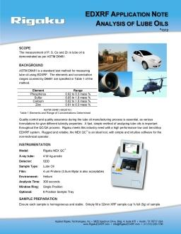 XRF application note 1312