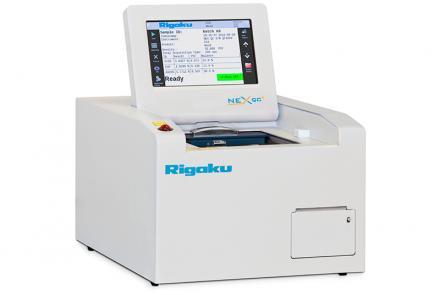 NEX QC+ high performance EDXRF analyzer