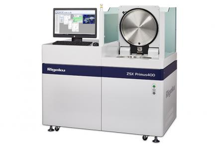 ZSX Primus 400 wavelength dispersive XRF for large samples